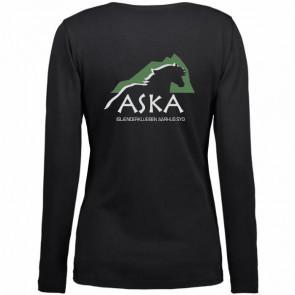 T-shirt med lange ærmer incl. ASKA tryk