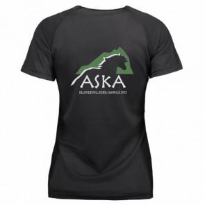 Funktionel t-shirt med rund hals inkl. ASKA tryk
