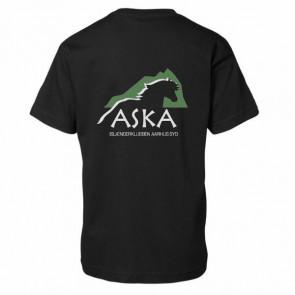 T-shirt 100% bomuld børn inkl. ASKA tryk