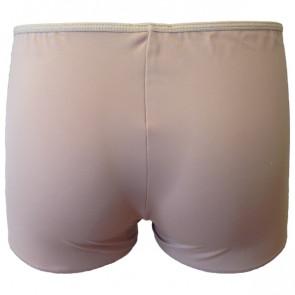 Hudfarvede boxer shorts