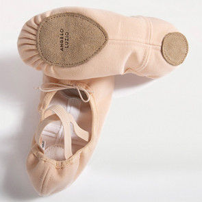 Split Sole Canvas Ballet slipper