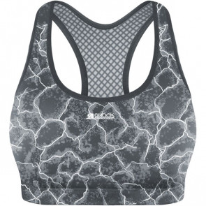 Shock Absorber Crop Top M Asphalt print