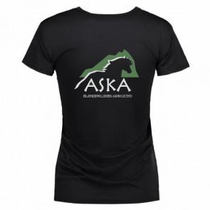 Mikrofiber t-shirt inkl. ASKA tryk