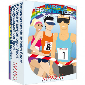 Nipple Protectors - til sport og løb - 20 stk