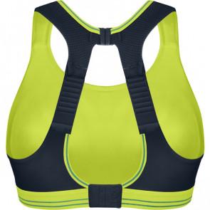 Run - løbe bh 70G Sort/limegrøn
