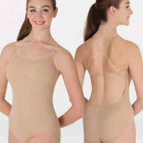 Hudfarvet underdragt med bar ryg