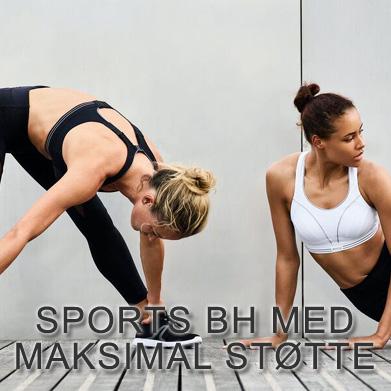 Sports bh med maksimal støtte